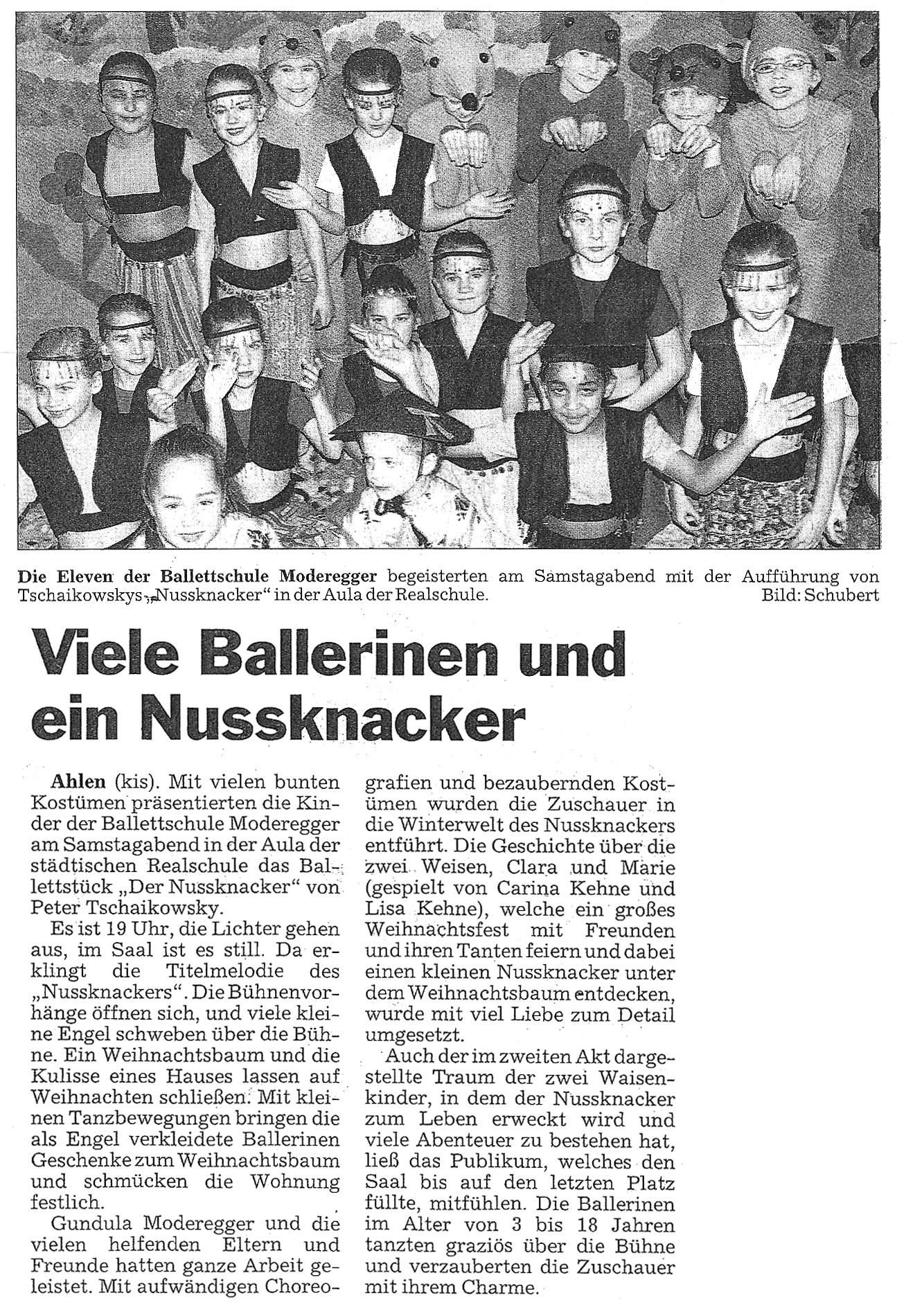 Presse Nussknacker Ahlen