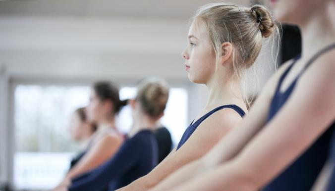 Ballettschule Moderegger Maedchen